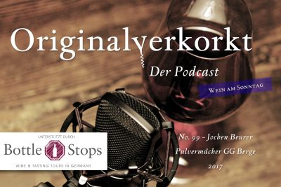 OVP099 – Wein am Sonntag – Jochen Beurer, Pulvermächer Riesling GG  –Berge– 2017