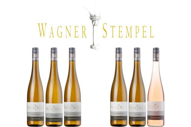 Wagner-Stempel Logo und Flaschenabbildungen